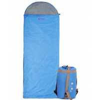 REDCAMP Light Sleeping Bag For Summer Blue With 1.8LBS