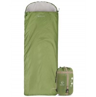 REDCAMP Light Sleeping Bag For Summer Green With 1.8LBS