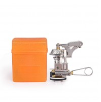 REDCAMP Mini Pocket Camp Stove with Piezo Ignition For Backpacking/Camping