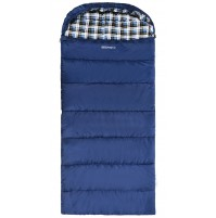 REDCAMP Cotton Flannel Sleeping bags With Hood Blue/3LBS Filling