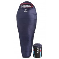 REDCAMP Mummy Sleeping Bag for Backpacking - Navy Blue