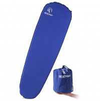 "REDCAMP Self Inflating Sleeping Pad for Backpacking - Royal Blue With 1.5"" Height"