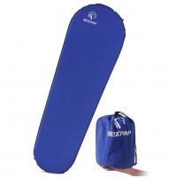 "REDCAMP Self Inflating Sleeping Pad for Backpacking - Long Blue With 1.5"" Height"
