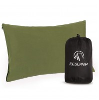 REDCAMP Camping Pillow for Sleeping Compressible, Peach Skin Small Travel Pillow, Portable and Lightweight