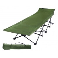 REDCAMP Camping Cots for Adults, Easy and Portable Folding Cot Bed with Carry Bag.