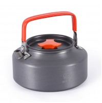 REDCAMP 1.1L Aluminum Camping Kettle Teapot,Compact and Lightweight
