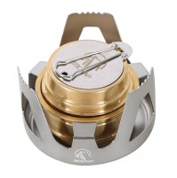 REDCAMP Mini Alcohol Burner Stove Portable for Camping, Backpacking, Hiking