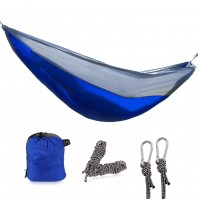 REDCAMP Nylon Single Hammock for Camping Backpacking, Lightweight and Portable Camping Hammock